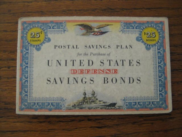United States Defense Savings Bonds Stamp Album