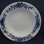 "Single Flow Blue Border 9"" Bowl"