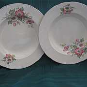 Two Matching English Alfred Meakin Soup Bowls