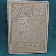 "1903 School Book ""The Children's Second Reader - Cyr's Readers"