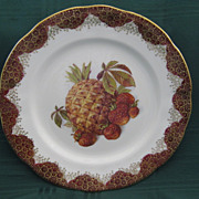"English  Staffordshire ""Hammersley"" Plate"