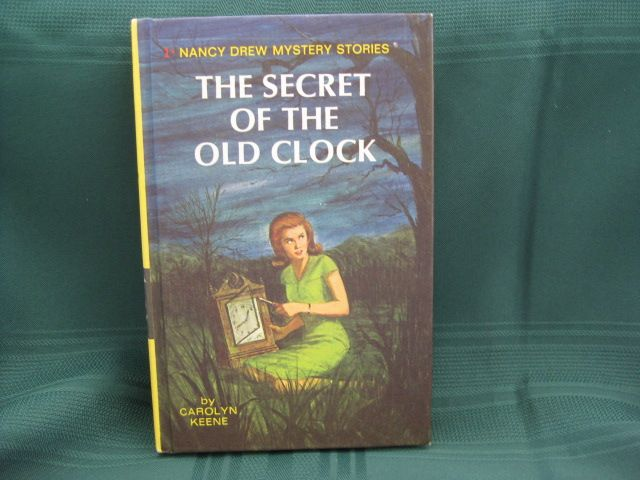 "Nancy Drew Book ""The Secret of the Old Clock"""
