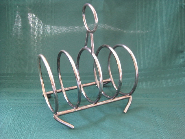 Vintage English Silver Plate Toast Holder/Rack