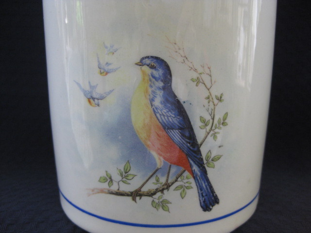 Bluebird Rice Canister 1920's