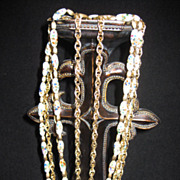 Vintage Five Strand Trifari Necklace