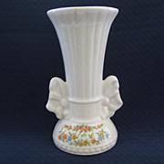 Small 1950's White Vase