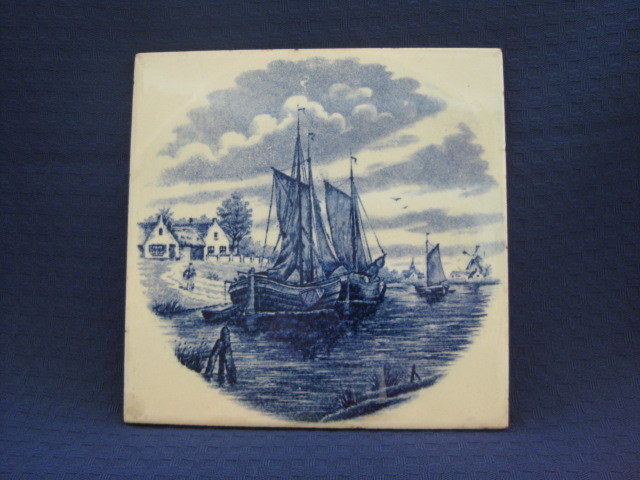 Dutch Delft Tile  Holland