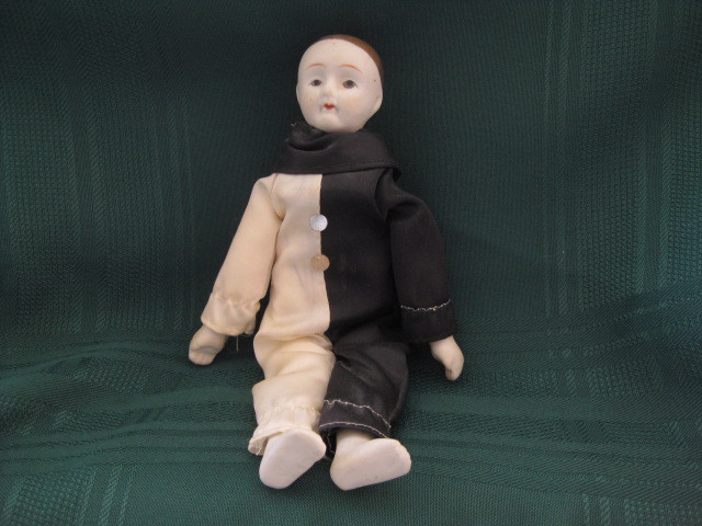 Bisque Mime Doll