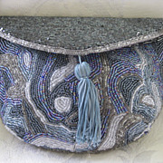 Beaded Evening Clutch Bag/Purse
