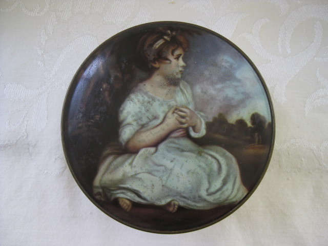 English Thorne's Confectionery Biscuit Round Tin