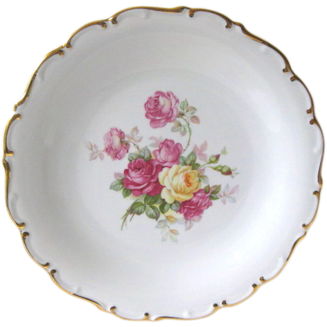 "Schumann Arzberg Germany 12"" Rose Charger Plate"