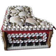 Novelty Piano Shell Box