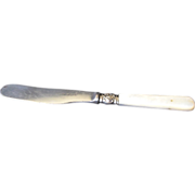Victorian Mother of Pearl Handle Knife