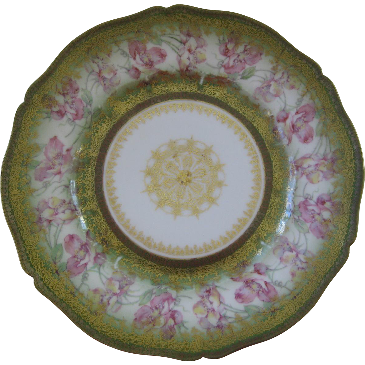 "Theodore Haviland Limoges France 8"" Plate"