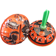 Two Halloween Noisemakers 1950's