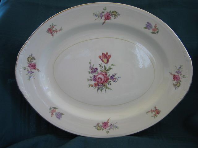 American Dinnerware Homer Laughlin Priscilla Pattern