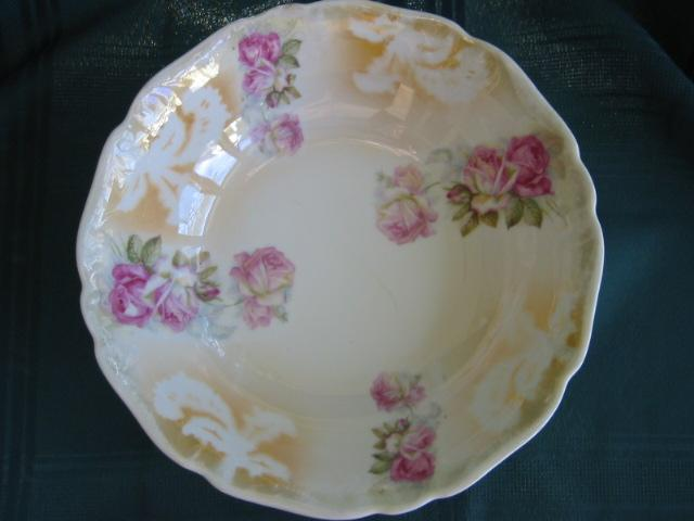 Beautiful Porcelain China  Bowl Victorian Roses