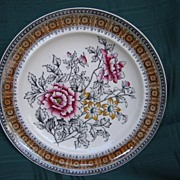 Transferware China Plate  Copeland - 1903