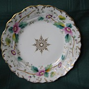 "Decorative 8""  Plate Pink Floral ( 2 )"
