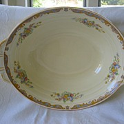 "Vegetable Bowl Grindley Floral Pattern ""Ludlow"""