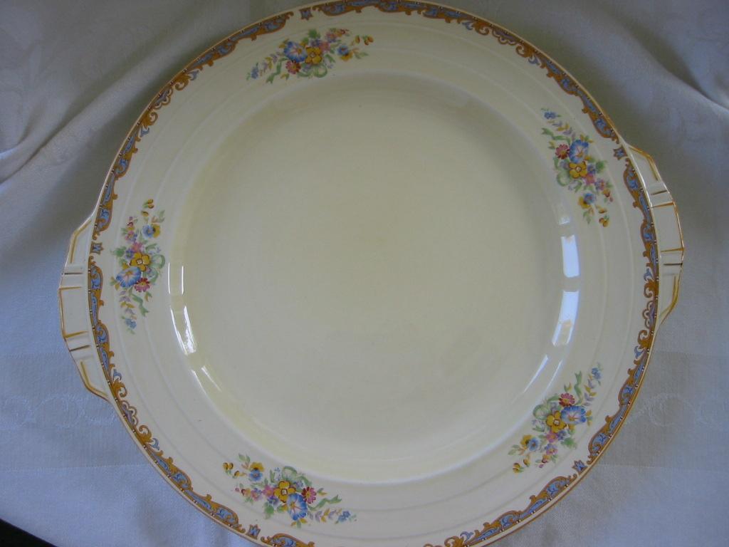 "Grindley Floral Pattern ""Ludlow"" Platter"