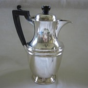 Silverplate Cream Jug Pitcher with Lid