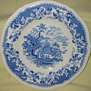 Transferware Blue and White Bowl  Seaforth