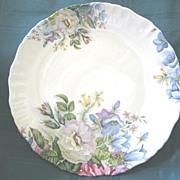 Staffordshire Floral Decorative Plate ( 2 )  James Kent