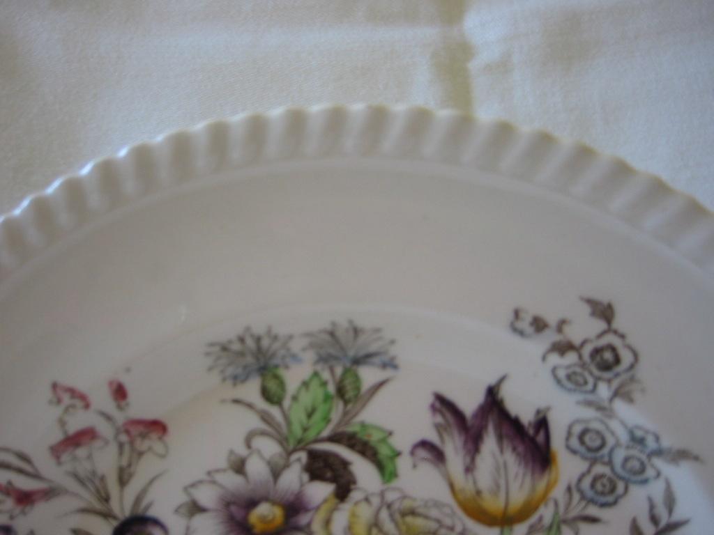 Plate Johnson Bros Pattern Quot Garden Bouquet Quot From Problem1