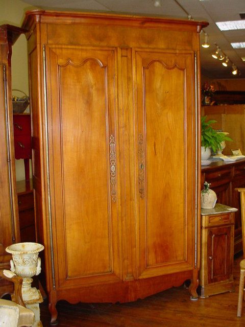 French Louis XV Provincial armoire circa 1800