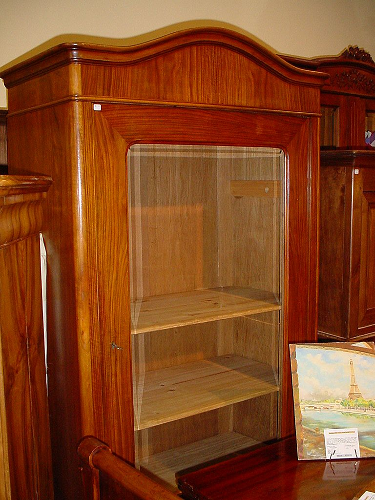 French Antique bookcase Second Empire circa 1860
