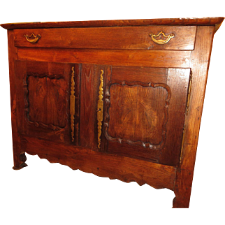 French Provincial sideboard buffet, fruit-wood, circa 1820