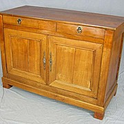 French Louis Philippe sideboard buffet circa 1840