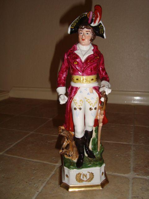 Napoleonic Porcelain Figurine Napoleon Marshal Lannes probably Capodimonte