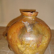 Antique French jar South France circa 1850