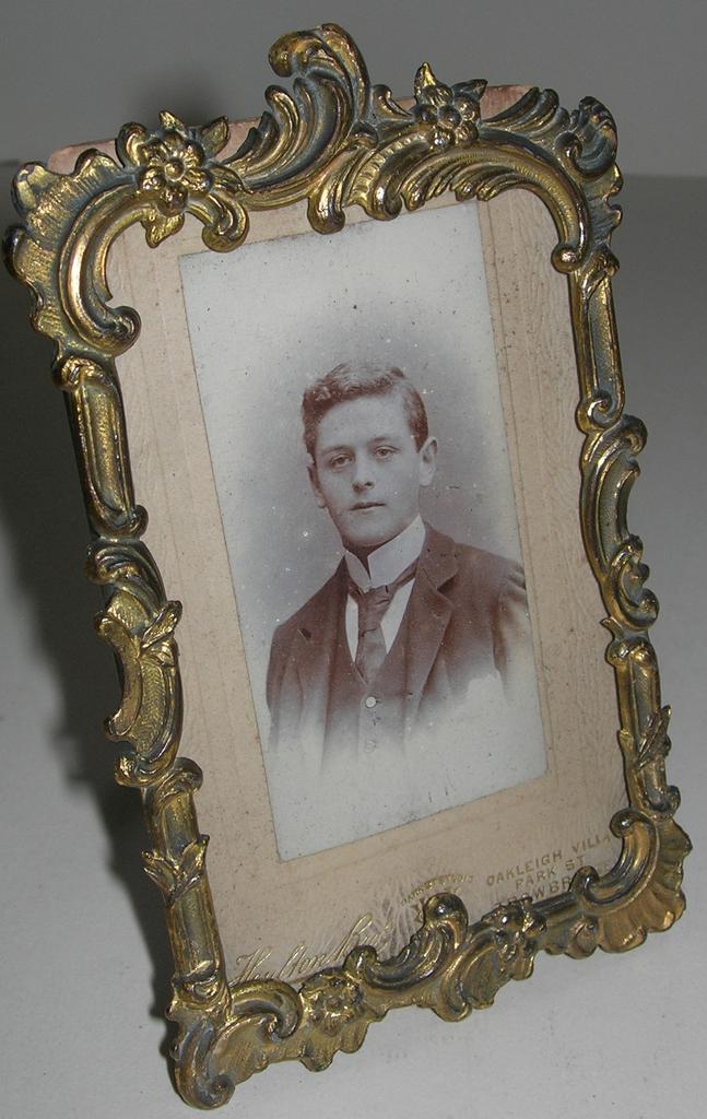 Antique Gilt Photograph Frame c. 1880