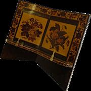 Antique English Tunbridge Ware Book Stand / Lectern c.1860