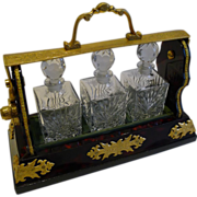 Antique English Betjemann's Perfume Tantalus c.1910