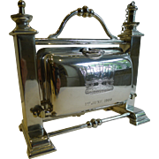Rare Staniforth's Patent Table Lighter In the Form of a Biscuit Box By Fenton Brothers - Naval - Glorious 1st June