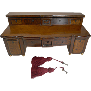English Regency Jewelry Box In The Form of a Sideboard c.1820