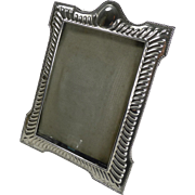 Victorian English Sterling Silver Photograph Frame - 1899