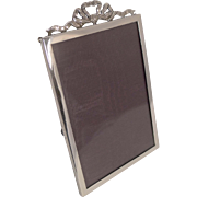 Vintage English Sterling Silver Photograph Frame - 1930