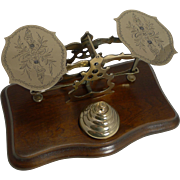 Decorative Antique English Postal / Letter Scales c.1880