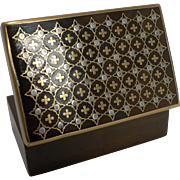Stunning Small Antique French Inlaid Box c.1860