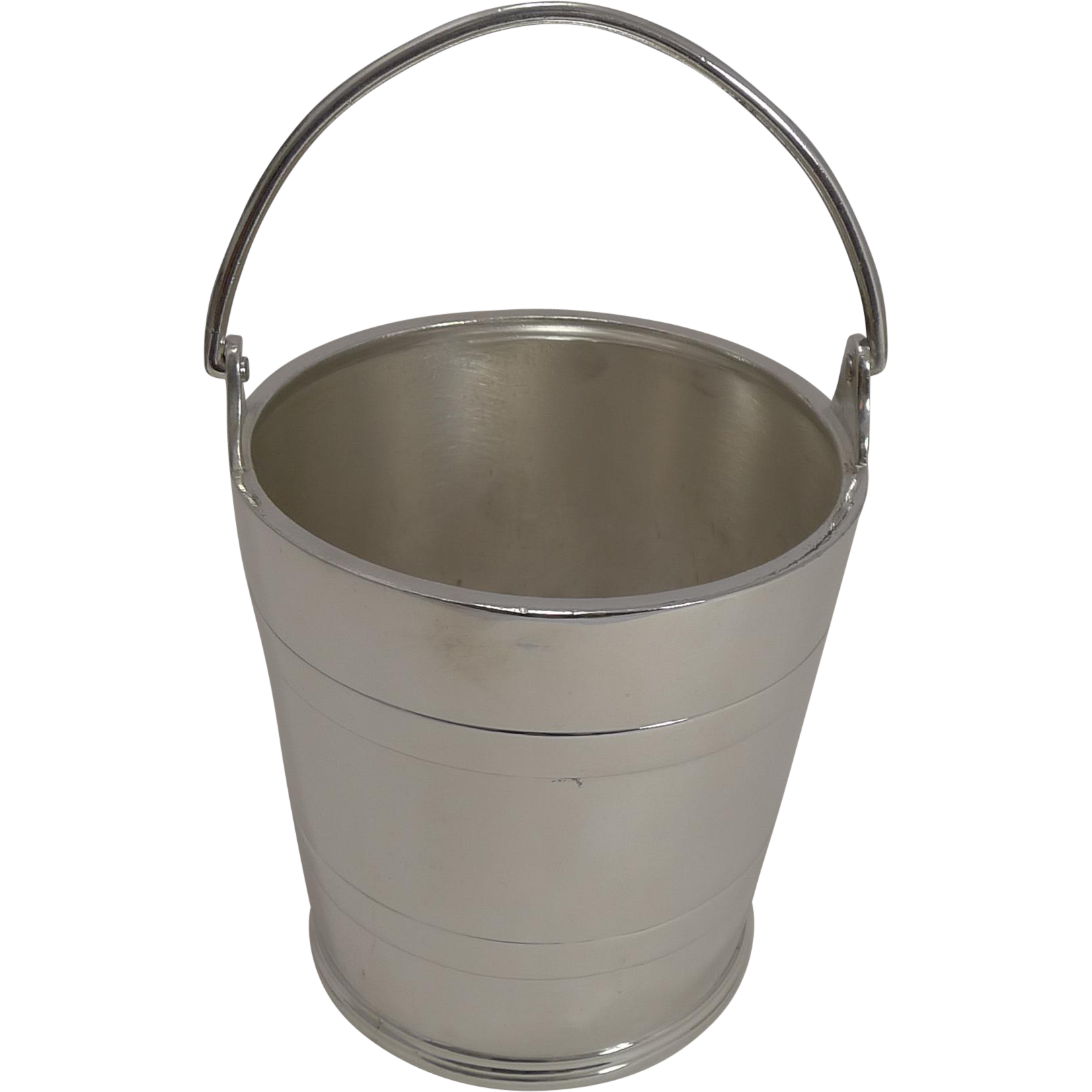 Vintage Silver Plated Ice Bucket by Elkington & Co. - 1938