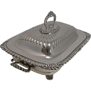 Superb Antique Silver Plated Meat Entree Dish by Hukin and Heath c.1890