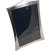 Elegant English Sterling Silver Photograph Frame - 1920
