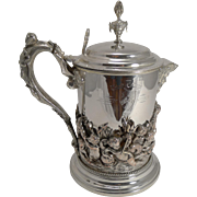 Magnificent Trinity College Oxford Trophy Pitcher or Jug - 1877