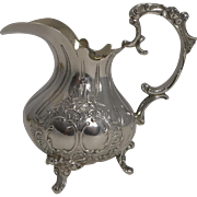 Antique Sterling Silver Milk Jug / Creamer 1898