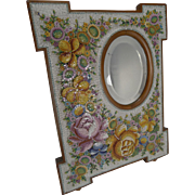 Large Antique Venetian Micro-Mosaic Mirror c.1890